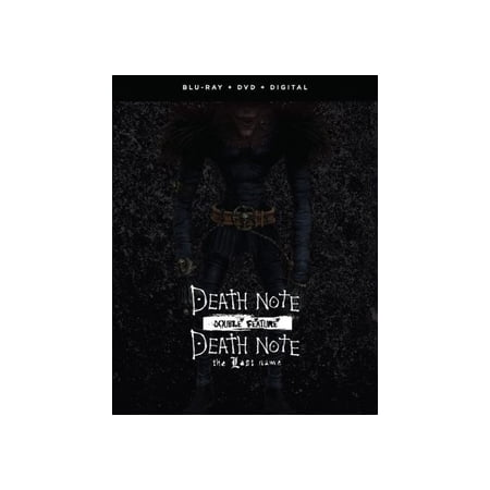 Death Note Live Action: Movies One & Two (Best Anime Like Death Note)