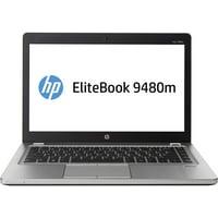 """HP EliteBook Folio 9480M 14"""" Laptop i7-4600u 8GB 256GB SSD Win10 Pro Refurbished"""