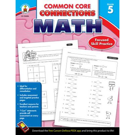 Common Core Connections Math, Grade 5 (Common Core Second Grade)