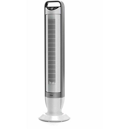 Seville Classics UltraSlimline Tilt Tower Fan, EHF10202B