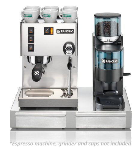 Click here to buy Rancilio HSD-BS50 Base for Rancilio Silvia Espresso Machine Rocky Grinder.