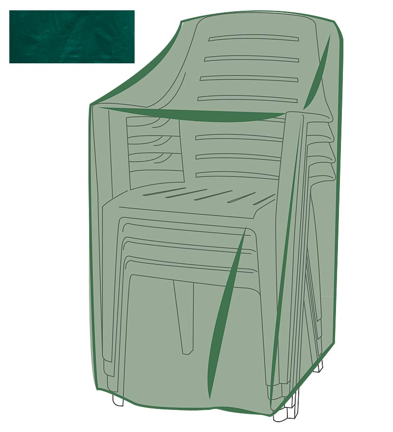All-Weather Outdoor Furniture Cover for Stacking Chairs