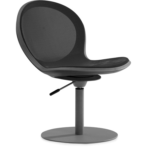 OFM NET Series Height Adjustable Swivel Chair, Black