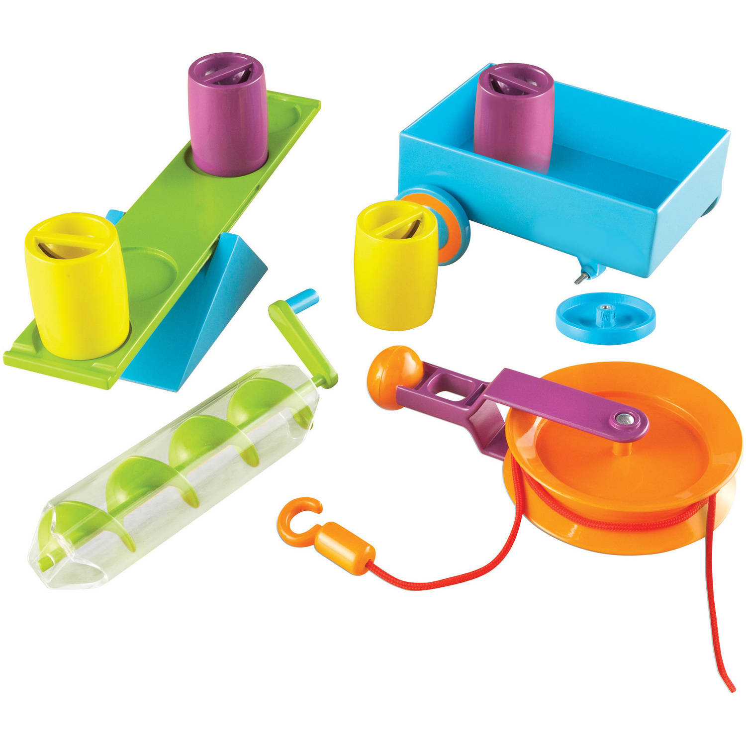 Learning Resources Simple Machines STEM Activity Set