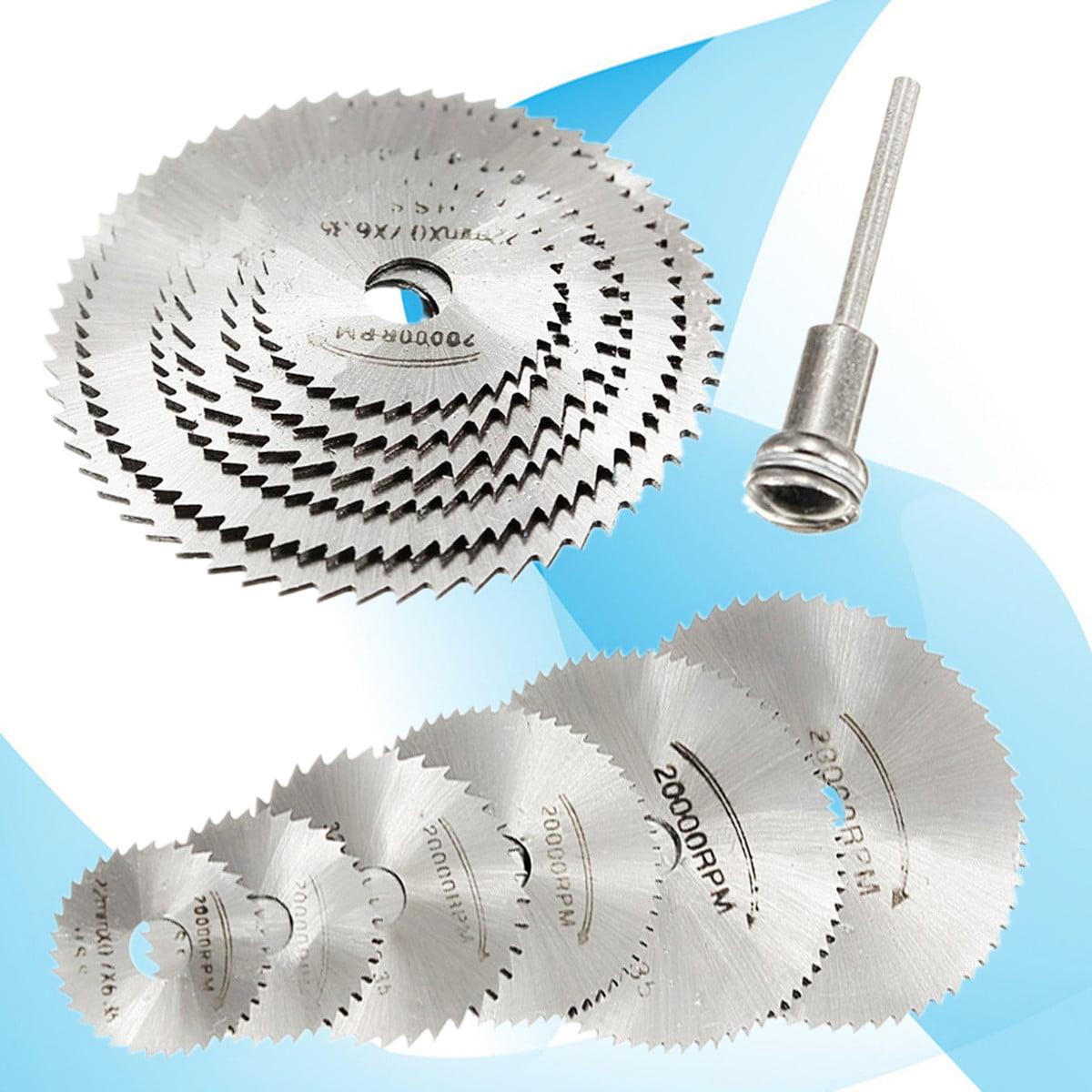 25mm HSS Circular Saw Blade Rotary Tool Cutoff Wheel Cutting Disc with Mandrel