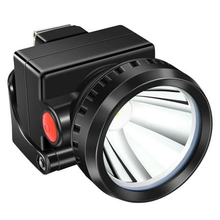 Kohree 3W KL2.8LM LED Miner Headlight Lamp 2000/15000 Lux Mining Light Cap Lamp