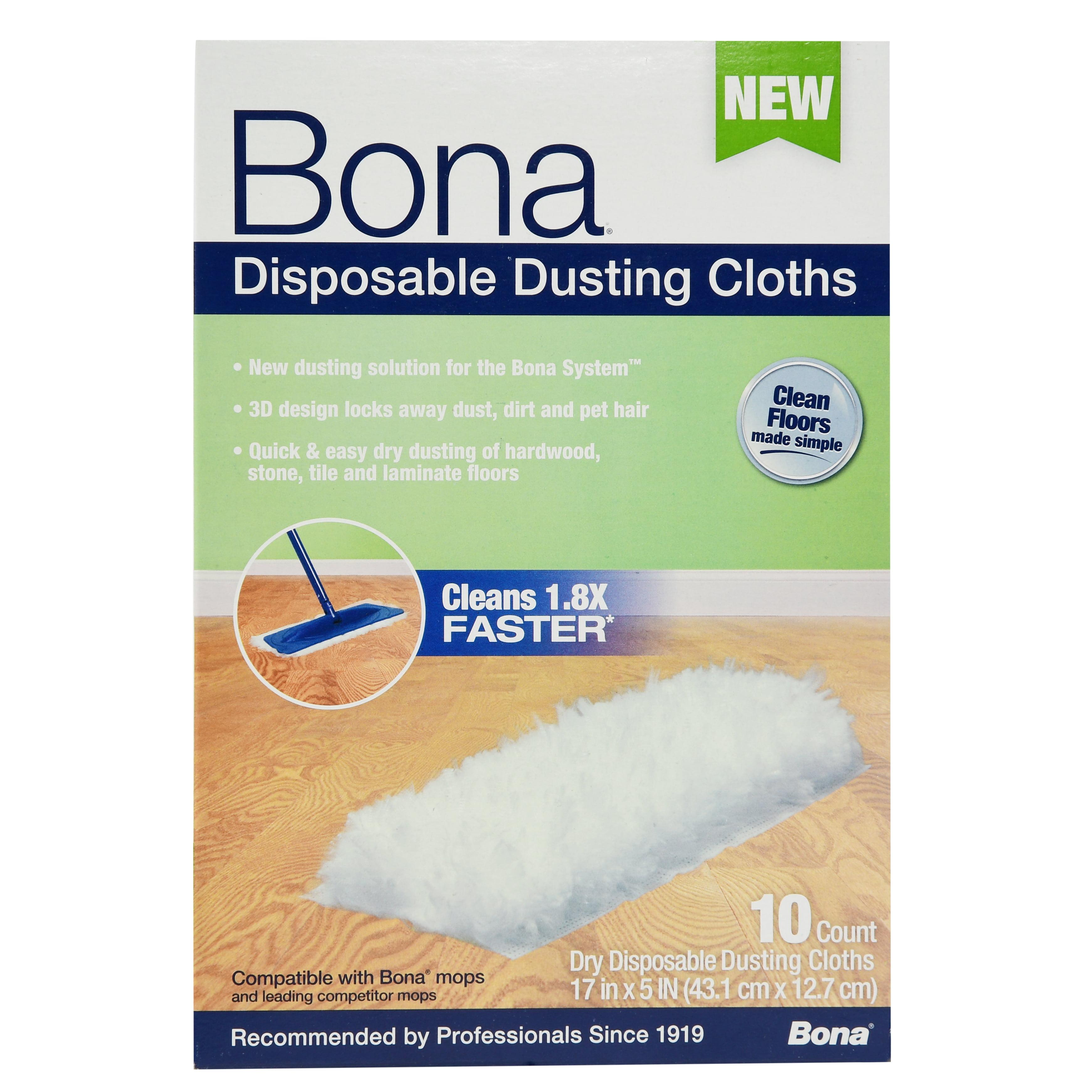 Bona® Disposable Dusting Cloths 10 ct