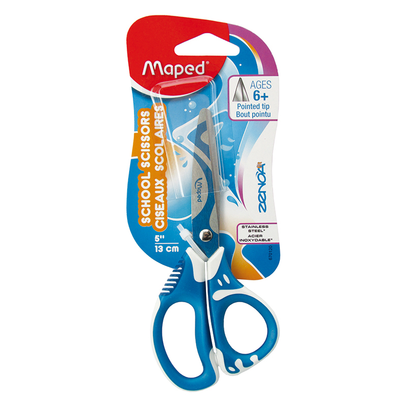 Maped USA Zenoa Fit Scissors Pointed Tip, 5 Inch