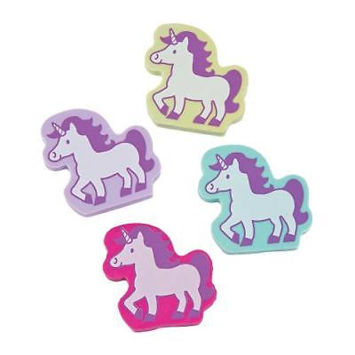 IN-13774245 Unicorn Erasers 24 Piece(s)