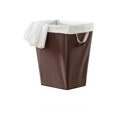 Neatfreak Rectangle Hamper with Removable Liner, Brown by Neatfreak