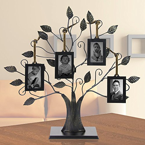 Family Tree With 4 Hanging Photo Frames Walmartcom