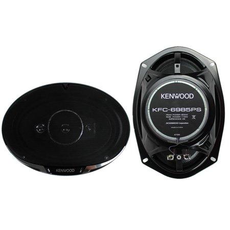 "Kenwood KFC-6985PS 6"" x 9"" 4-Way Speaker System, 600 Watts Max Power"
