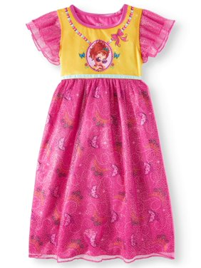 Disney Fancy Nancy Toddler Girls Poly Sleep Gown