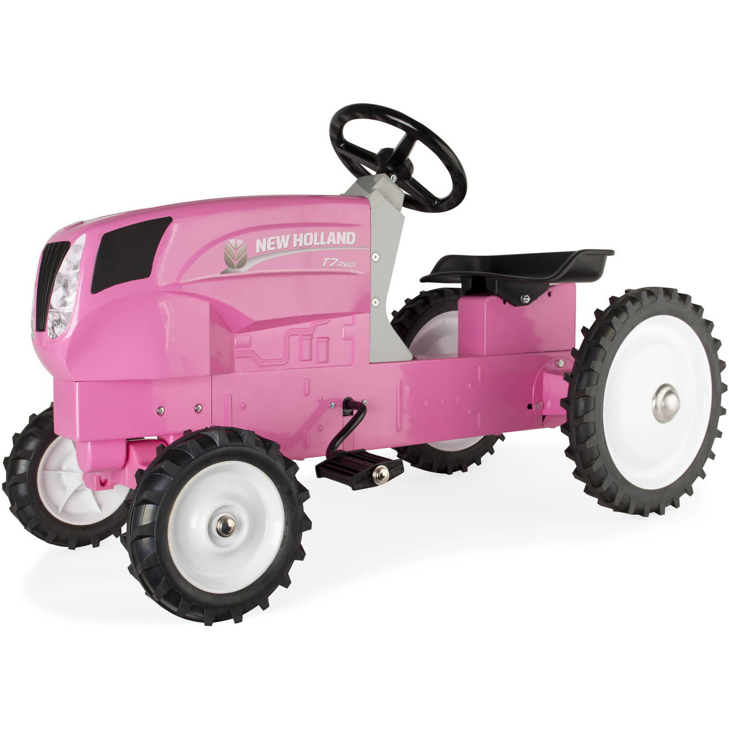 ERTL New Holland Pedal Tractor, Pink