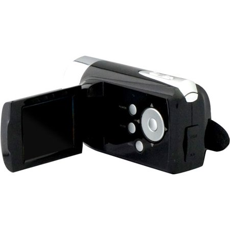 "Jazz Video Camcorder and Hybrid Camera with 1.44"" Hinged LCD, 4x Digital Active Zoom"