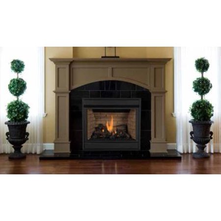 Mpd Pro 35 Top Rear Vent Combo Propane Gas Front View Ipi Fireplace