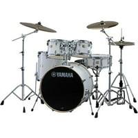 Yamaha Stage Custom Birch 5-Piece Shell Pack - Pure White