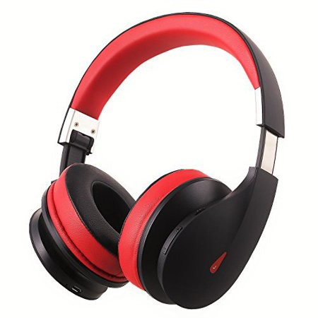 AUSDOM Wireless Bluetooth Headphones, On Ear Stereo Bass Over Ear Bluetooth Headsets with Built in Microphone for PC/ Cell Phones/