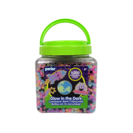 Perler Fused Beads Bucket 11000 Glow In the Dark