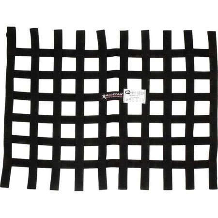 Allstar Performance ALL10290 18 x 18 in. SFTI Loop Style Window Net, Black - image 1 of 1