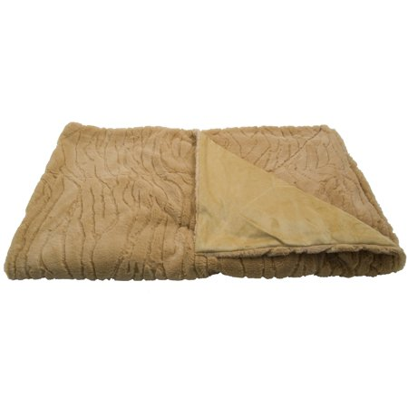 Ultra Soft Top Grade Polyester Luxury Blankets - Reversible Winter Throw Copper