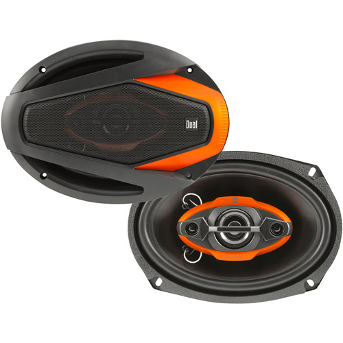"Dual 6"" x 9"" 4-Way Speakers (Pair of Speakers)"