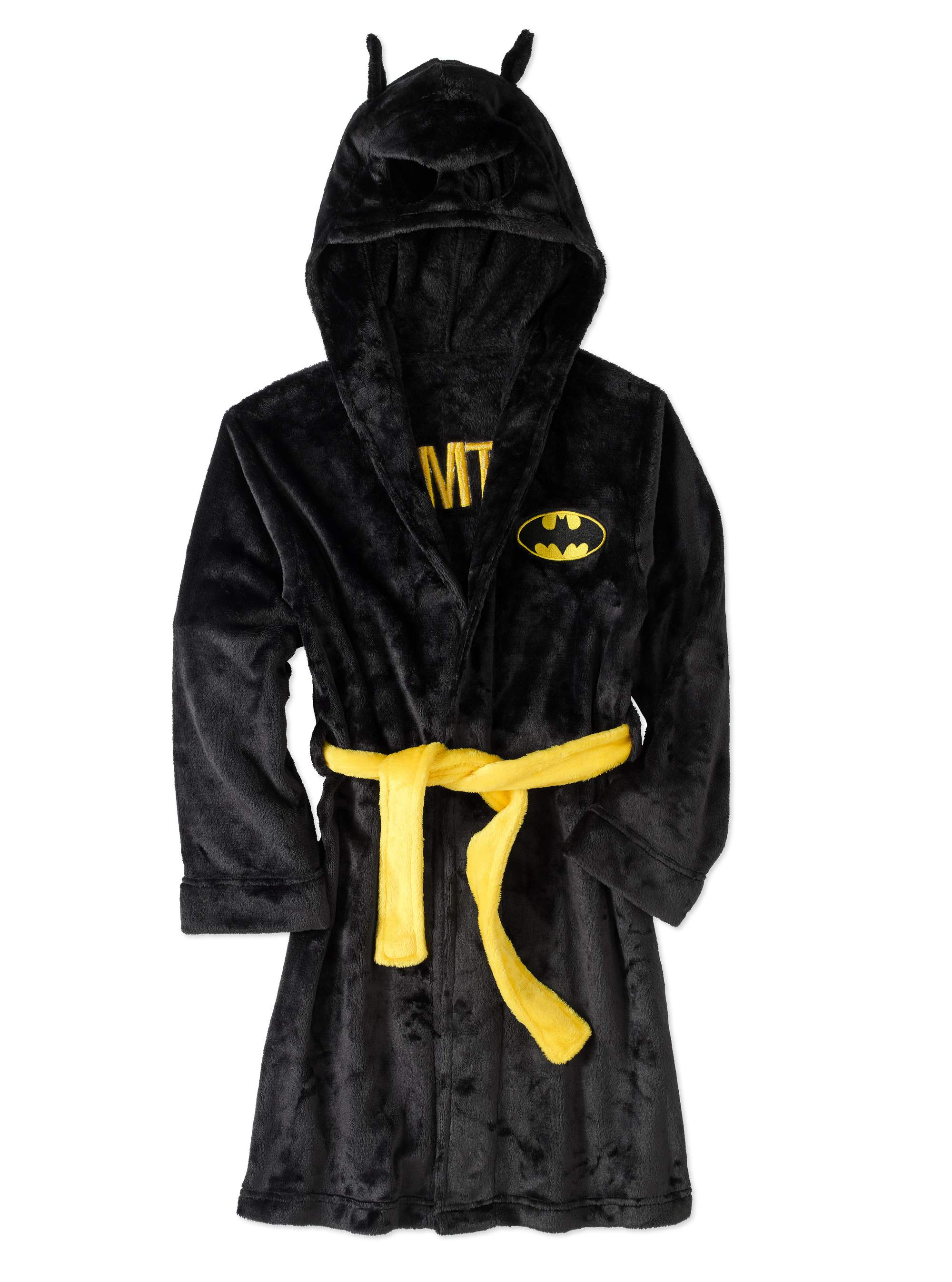 Batman Boys' Hooded Robe with Mask by Komar Kids