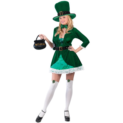 Leprechaun Luscious Adult Halloween Costume