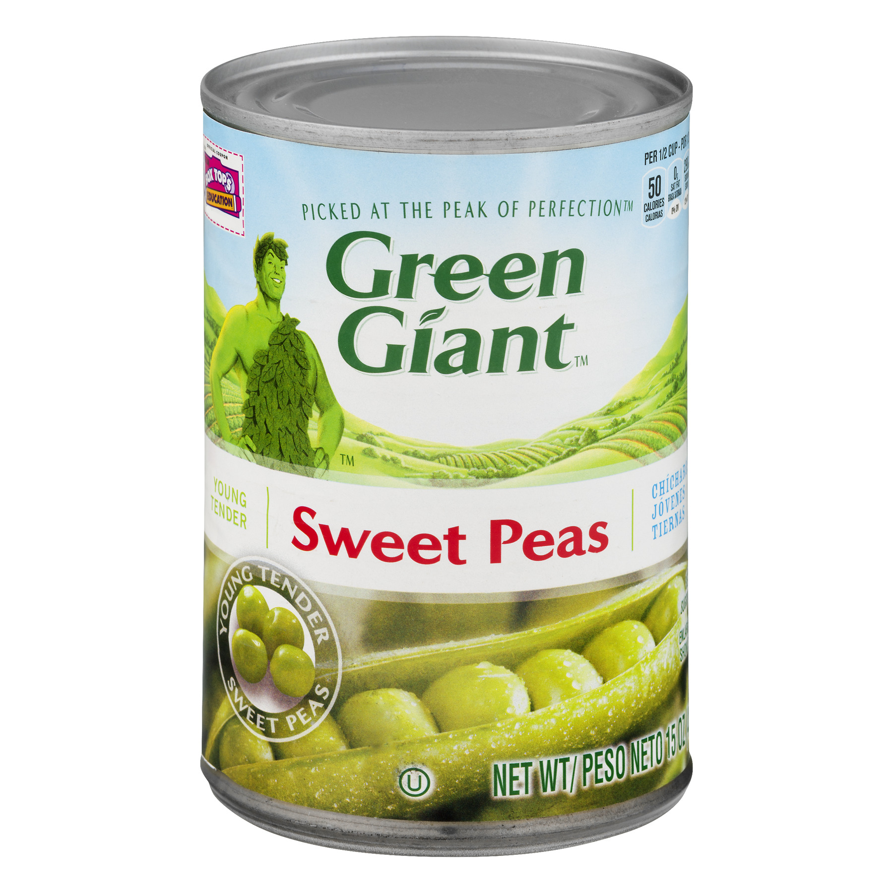 Green Giant Sweet Peas, 15.0 OZ