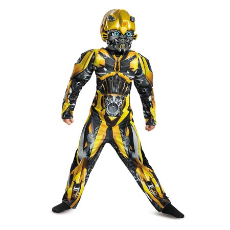 Bumblebee Transformers Halloween Costume (Transformers Bumblebee Muscle Child Halloween)
