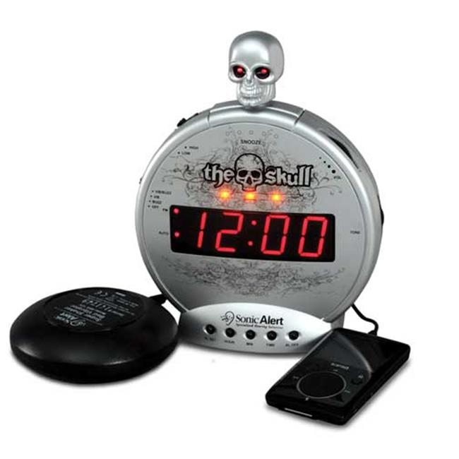 Sonic Alert The Skull Vibrating Alarm Clock