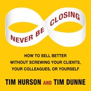 Never Be Closing - Audiobook