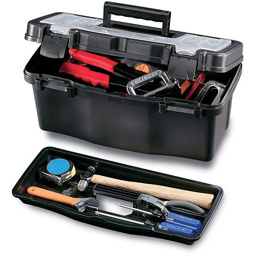 Stack-On Tool Box 7 in. L Plastic