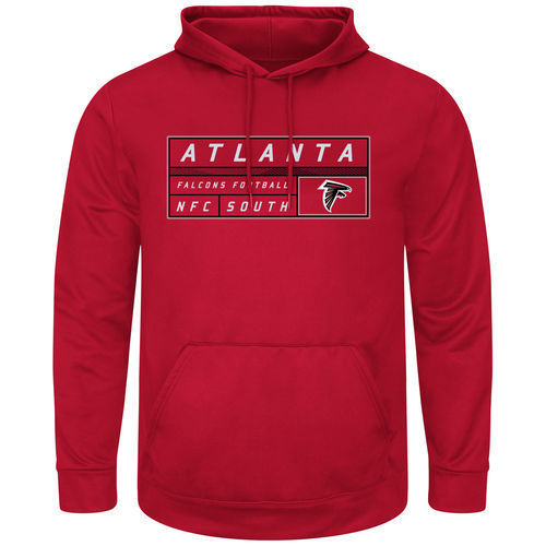 Atlanta Falcons Mens Startling Success Pullover Hoodie by Majestic by