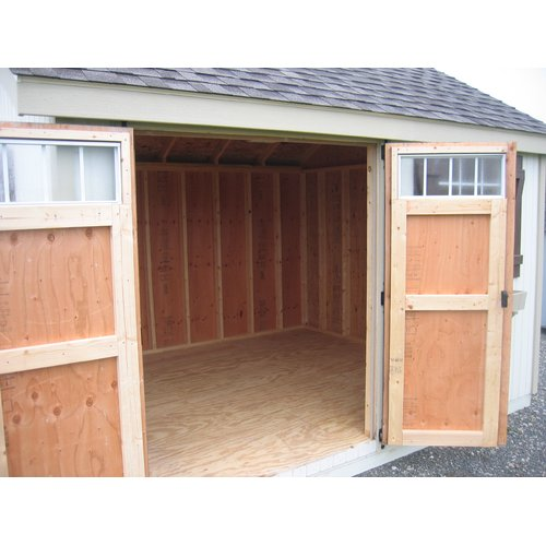 Little Cottage Company Colonial Pinehurst Wooden Storage Shed