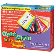 SIGHT WORDS IN A FLASH SET 4 GR 4 & UP CHALLENGING