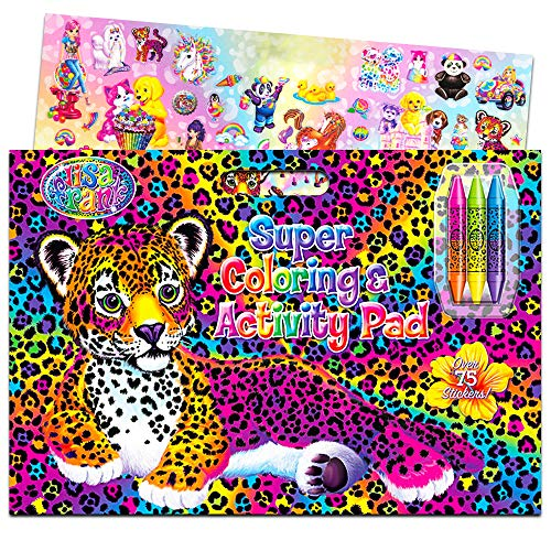 Lisa Frank Super Coloring And Activity Pad With Colorful Fun Stickers Walmart Canada