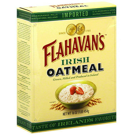 Flahavan's Irish Oatmeal, 16 oz (Pack of 6)