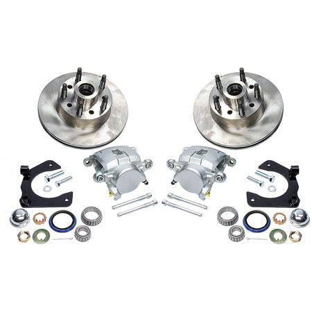 ALLSTAR PERFORMANCE ALL42030 Brake Systems Disc Brake Kit Mustang II 5 on 5.0in BC All Brake System