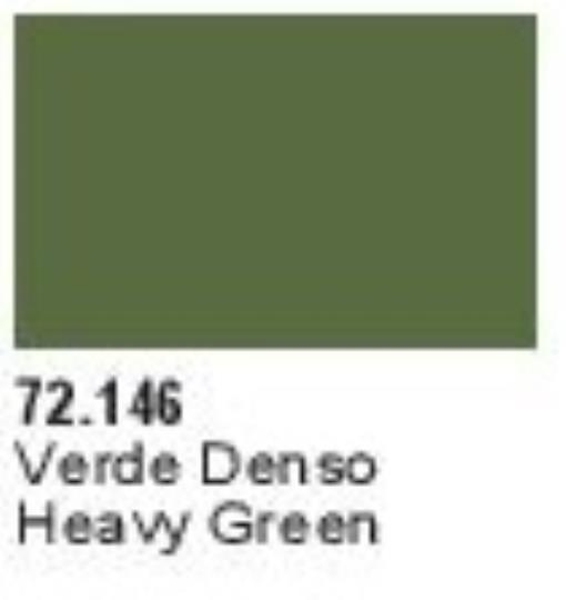 Vallejo Game Color Heavy Green X-Opaque Paint, 17ml Multi-Colored