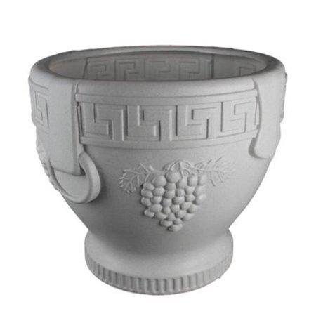 - Union Products 53521SC Classic Roman Concrete Grape Pattern Urn Planter