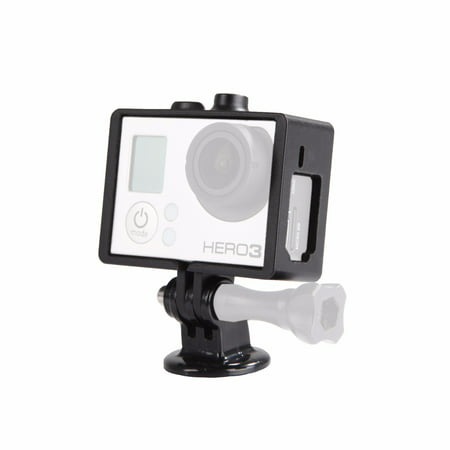 Movo Photo GC34 Rugged Protective Housing Cage with Tripod Mount for GoPro HERO3, HERO3+ and HERO4 Action