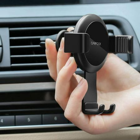 Xiaomi CARFOOK Gravity Air Vent Car Mount Auto-lock Aluminum Alloy Adjustable Mobile Phone Holder for Car Stand Bracket - image 4 de 7