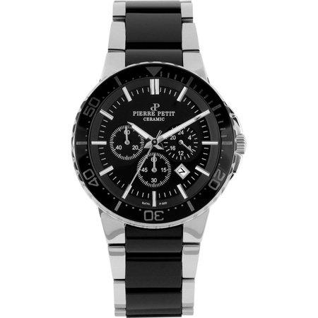 Pierre petit colmar p 809a 43mm steel bracelet case anti reflective sapphire men 39 s watch for Anti reflective watches
