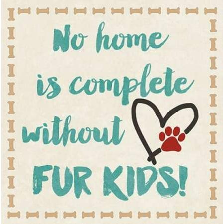 Fur Kids Rolled Canvas Art - Jo Moulton (12 x - Gol Roll