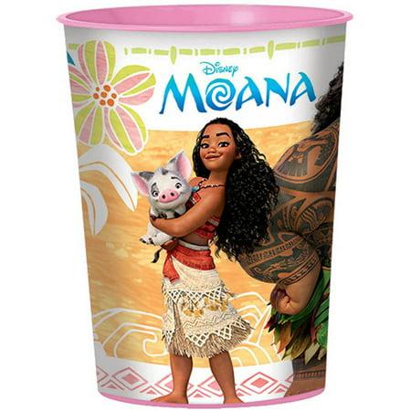 Disney Moana 16 0z Plastic Cup