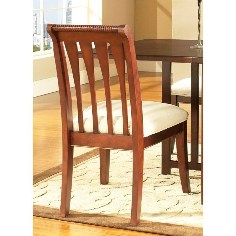 Somerton Caress Side Chair in Deep Cherry