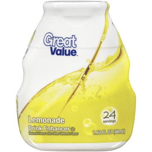 Great Value Lemonade Drink Enhancer, 1.62 oz