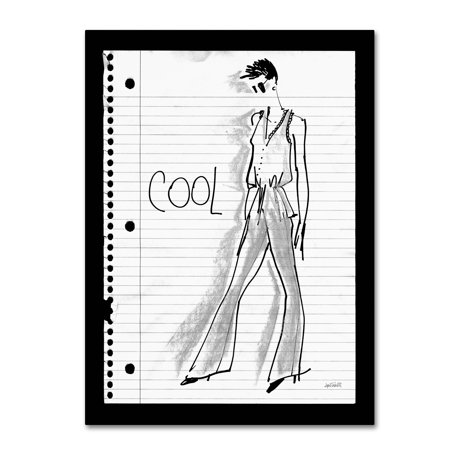 Trademark Fine Art 'Doodle Cool' Canvas Art by Anne Tavoletti - Cool Doodles