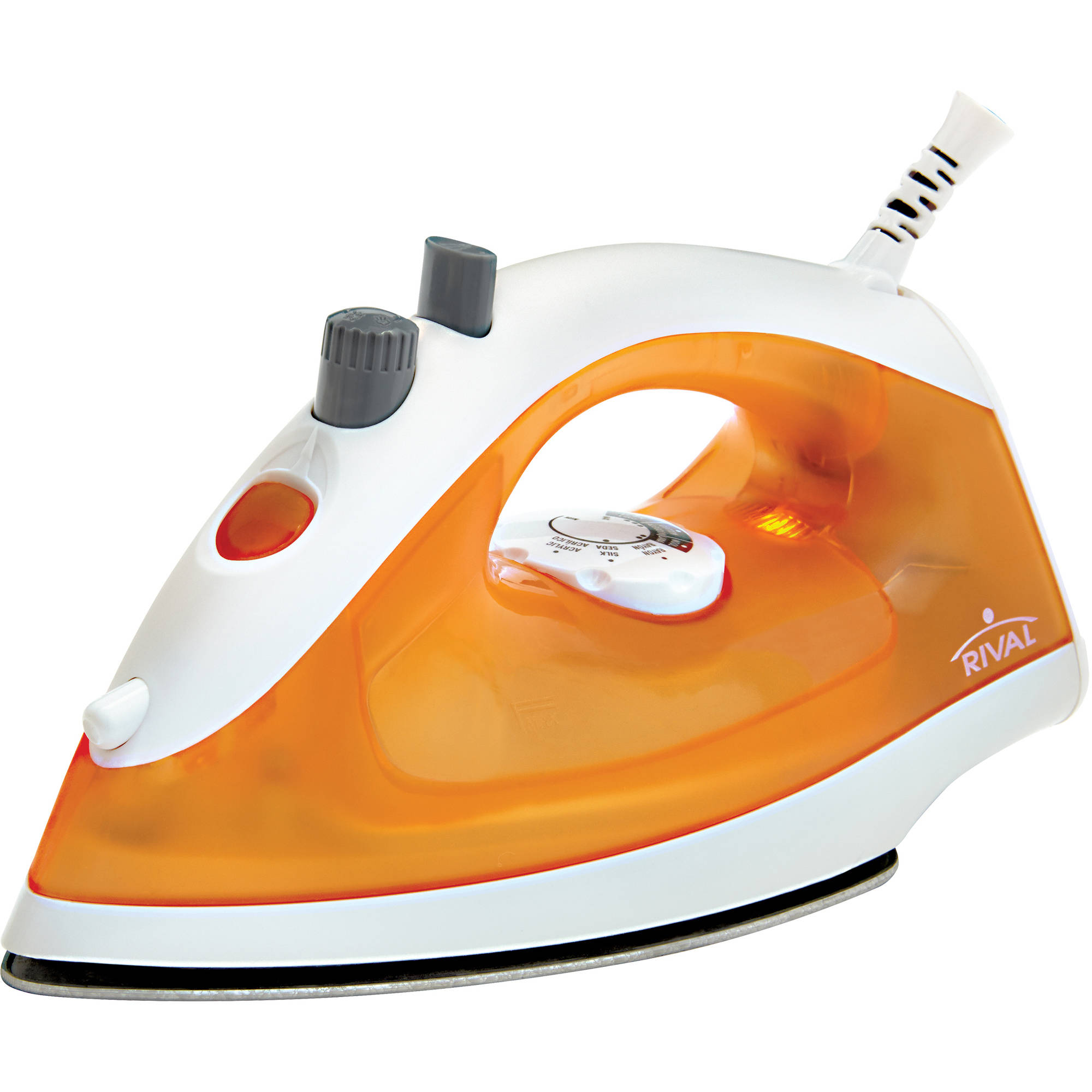 Rival Lightweight Iron, Orange/White